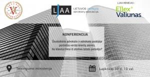 Pranešimas apie 2017-11-30 konferenciją