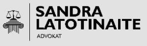 Advokat Sandra Latotinaite -logo