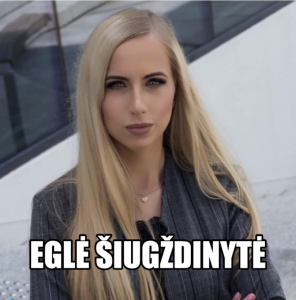 Eglė Šiugždinytė_