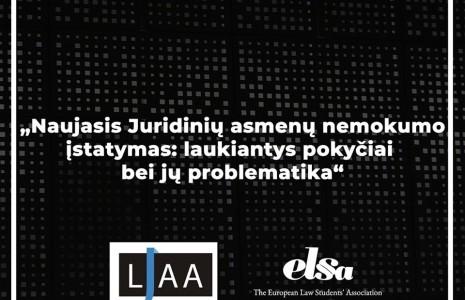 LJAA ir ELSA seminaras