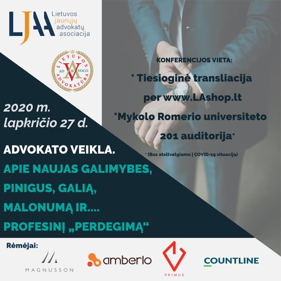 LJAA ir LA konferencija